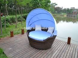 Patio Wicker Furniture - tf 9446 outdoor patio rattan canopy bed wicker furniture pool