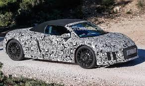 Audi R8 Spyder - 2017 audi r8 spyder spy shots