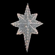 17 Clear Lighted Star Christmas Window Silhouette Decoration by Outdoor Christmas Light Displays You U0027ll Love Wayfair