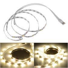 usb powered led light 39 118 inches usb light led strip tv ambient adjustable bias