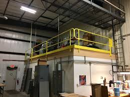 fixed mounted guardrails cai safety systems fall protection