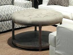 round tufted coffee table fancy round tufted ottoman coffee table magnificent round tufted