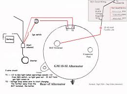alternator wiring diagram wiring diagram for unmarried cord