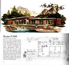 mid century modern house plan plans ranch floor interiors lrg