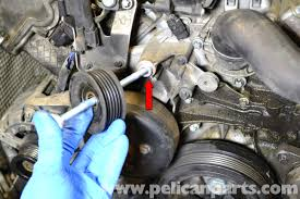 mercedes benz w203 idler pulley replacement 2001 2007 c230