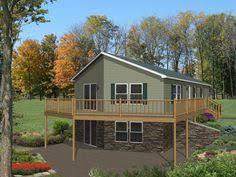 daylight basement homes garage basement house plans country cabin house plan d68 941