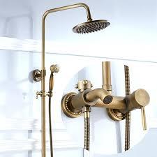 Retro Shower Fixture Retro Antique Bronze High Bathroom Exposed Bathroom Fixtures Minneapolis