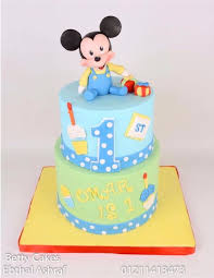 baby mickey mouse cake cake by bettycakesebthal cakesdecor