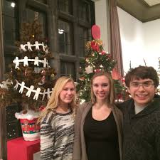 hall art students u0027 tree featured in wadsworth festival of trees