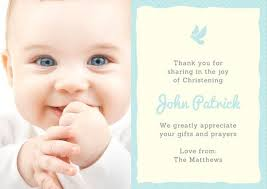 blue and yellow cross christening thank you card templates by canva