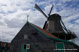 amsterdam canals van gogh cheese and windmills of zaandam a
