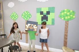 minecraft birthday party minecraft birthday party boxart box