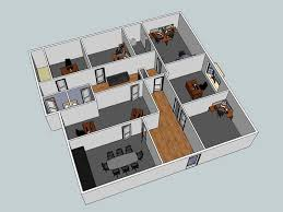 Floor Plan Office Layout 3d Layout Examples Wny Office Space