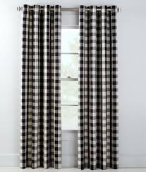 Navy Buffalo Check Curtains Buffalo Check Grommet Top Curtains Country Curtains