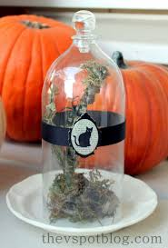 Recycled Halloween Crafts - diy cloche from a soda bottle the v spot