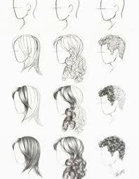 Frisuren Zeichnen Anleitung die besten 25 haare zeichnen ideen auf wie haare