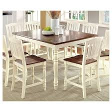 Cottage Pine Furniture by Sun U0026 Pine Cottage Style Counter Dining Table Wood Vintage White