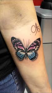 colored butterfly done by danny monagheddu