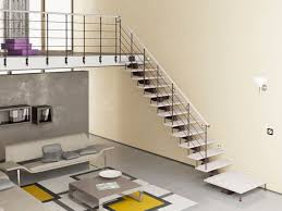 House Interior Steps Modern Simple Design Interior Stairs That Has Grey And Affordable