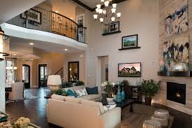 Toll Brothers Interior Design StantonKEEPERONE OF MANY - Two story family room decorating ideas