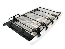 nissan pathfinder luggage rack nissan patrol troop1 expedition heavy duty roof rack black powder
