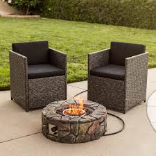 Propane Firepit Luxury Propane Pit Outdoor Ember Longmont 45 In Square