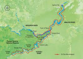 Amazon River World Map by Amazon River Cruises Aria Amazon 7 Night Cruise Peru Amazon Jungle