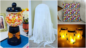 Home Halloween Crafts by Cheap And Easy Diy Halloween Crafts 2 Pinterest Inspired Youtube