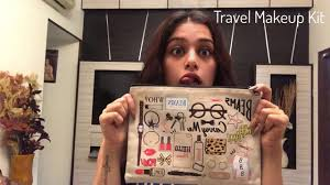 go to travel makeup kit naaz arora youtube