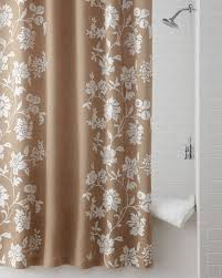 burlap shower curtain was show the traditional style beauty home