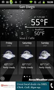 accuweather android app accuweather mobile ad specification sheet