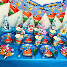 birthday party supplies oussirro party supplies 50pcs for 6 kids wings theme