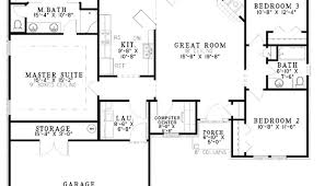 3 bedroom ranch house floor plans 4 bedroom ranch floor plans luxamcc org
