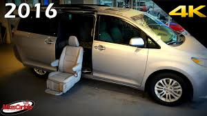 automotive toyota 2016 toyota sienna xle auto access seat aas mobility ultimate in