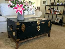 coffee tables square trunk coffee table s yle rustic wicker
