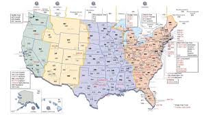 Map With State Names by Printable Us Timezone Map With State Names Printable Maps