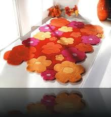 tapis de cuisine orange tapis de cuisine orange photo ambiance tapis chenille orange tapis