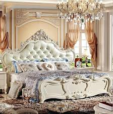 Bed And Bedroom Furniture Modern European Bedroom Furniture Factory Price King Size Leather
