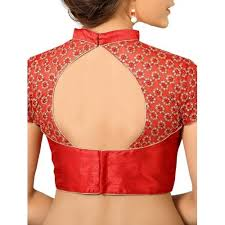 pattern of net blouse buy vamas red net blouse online looksgud in
