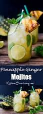 pineapple mojito recipe pineapple ginger mojitos with spiced rum nicky u0027s kitchen sanctuary