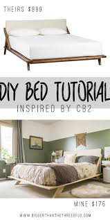 25 easy diy bed frame projects to upgrade your bedroom homelovr