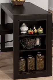 Amazoncom Jofran  Maryland Merlot Counter Height Table - Counter height kitchen table with storage