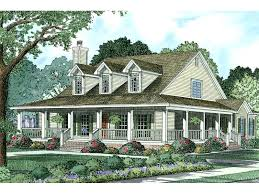 southern country homes ranch home designs with porches majestic design ideas old style