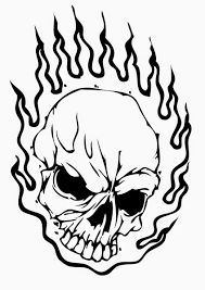 skull coloring pages for adults eson me