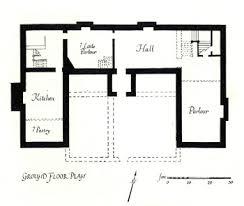 Manor House Floor Plan Medieval House Floor Plan House Plans