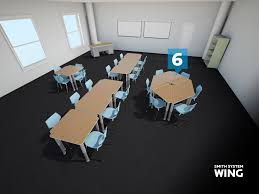 kay twelve com use smaller desks to create a larger table with