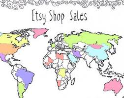 world map coloring pages printable world map coloring etsy