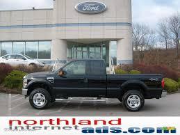 2009 black ford f250 super duty xlt supercab 4x4 11208508