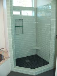 tiles bathroom shower glass tile ideas exciting subway tile