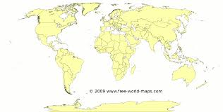 Blank World Map Pdf by Printable Blank World Maps Free World Maps